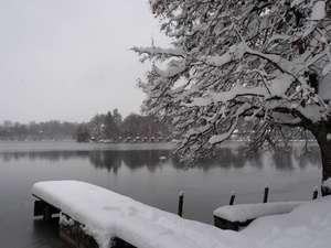 Winter am Weßlinger See