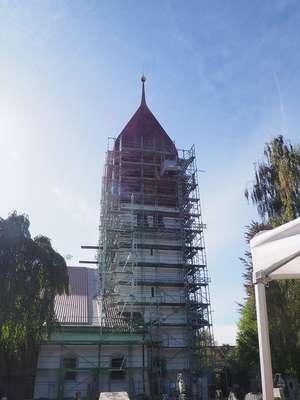 Turmbesteigung Christkönig-Kirche am 13.10.19