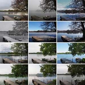 Weßlinger See Oktober 2018 bis September 2019