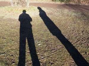 Selbstbildnis: Der Fotograf (links) und seine Frau